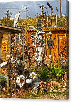Bone Shack - 05 Canvas Print by Gregory Dyer
