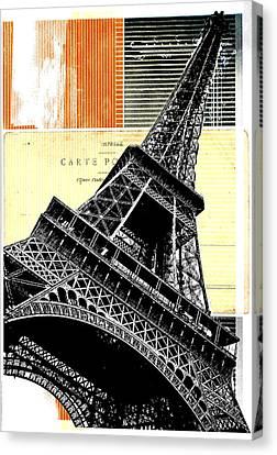 Bonjour Paris  Canvas Print by Steven  Taylor