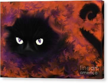 Boo Canvas Print by Roxy Riou
