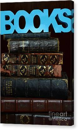Books Canvas Print by Paul Ward