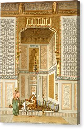 Bordeyny Mosque, Cairo Canvas Print by French School