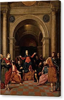 Bordon Paris, Pentecost, 1520 - 1530 Canvas Print by Everett