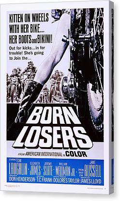 Born Losers, Aka The Born Losers, Us Canvas Print by Everett