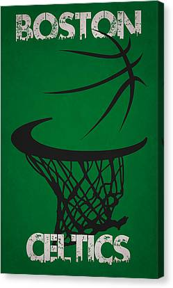 Boston Celtics Hoop Canvas Print by Joe Hamilton