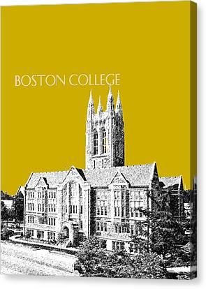 Boston College - Gold Canvas Print by DB Artist