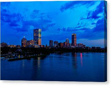 Boston Evening Canvas Print by Rick Berk