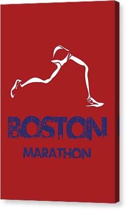 Boston Marathon1 Canvas Print by Joe Hamilton