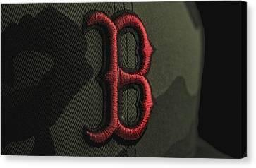 Boston Red Sox Canvas Print by David Haskett