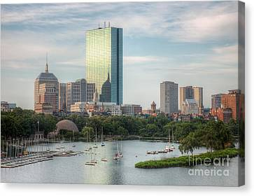 Boston Skyline I Canvas Print by Clarence Holmes