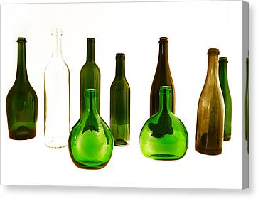Bottled Canvas Print by Gina Dsgn