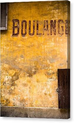 Boulangerie Canvas Print by Instants