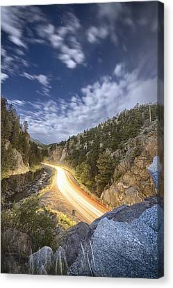 Boulder Canyon Dream Canvas Print by James BO  Insogna