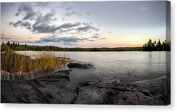 Boundary Waters // Bwca, Minnesota Canvas Print by Nicholas Parker