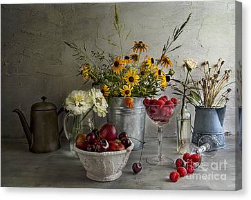 Bountiful Canvas Print by Elena Nosyreva