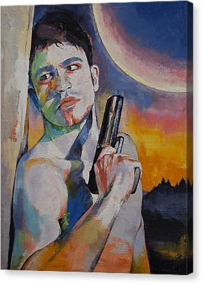 Bounty Hunter Canvas Print by Michael Creese