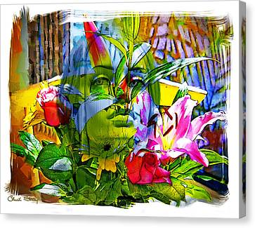 Bouquet Canvas Print by Chuck Staley