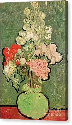 Bouquet Of Flowers Canvas Print by Vincent van Gogh