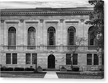 Bowling Green State University Mc Fall Center Canvas Print by University Icons