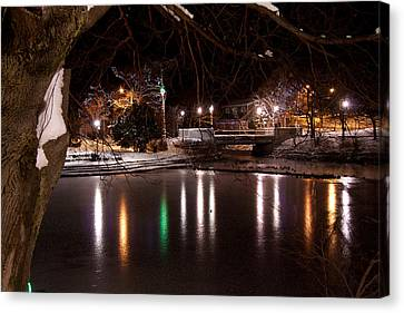 Bowring Park Canvas Print by Darrell Young