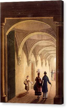 Box Entrance To The English Opera Canvas Print by Daniel Havell