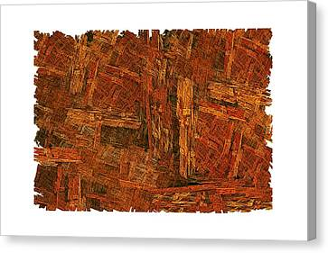 Boxed-in Canvas Print by Doug Morgan