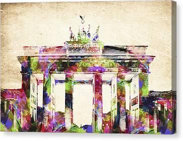 Bradenburger Tor Canvas Print by Aged Pixel