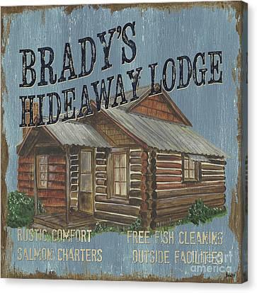 Brady's Hideaway Canvas Print by Debbie DeWitt