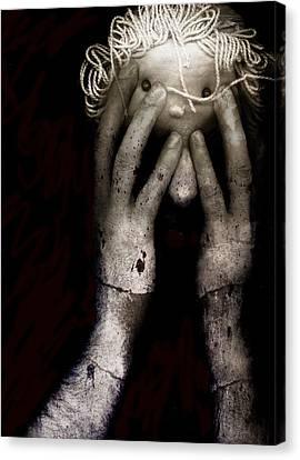 Brain Fight Canvas Print by Johan Lilja