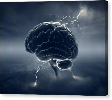 Brainstorm Canvas Print by Johan Swanepoel