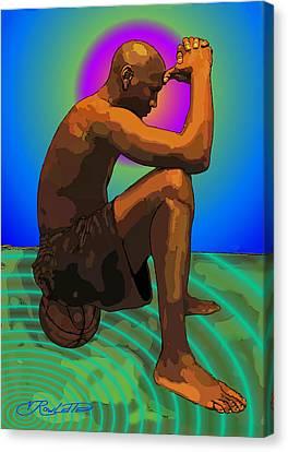 Brain Storm Canvas Print by Vernon Rowlette