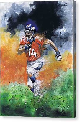Brandon Stokley Canvas Print by Jerry Bates