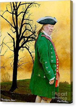 Brandywine Dawn... Canvas Print by Will Bullas