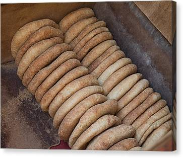 Bread Baked In Oven, Fes, Morocco Canvas Print by Panoramic Images