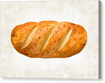 Bread Loaf  Canvas Print by Danny Smythe