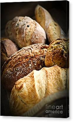 Bread Loaves Canvas Print by Elena Elisseeva