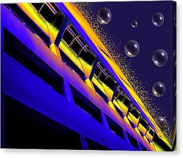 Breaking Away Canvas Print by Wendy J St Christopher