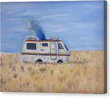 Breaking Bad Canvas Print by Jessica Sanders