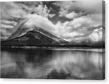 Breaking Clouds Canvas Print by Andrew Soundarajan