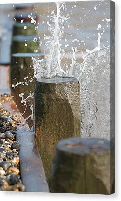 Breaking Point Canvas Print by Paul Lilley