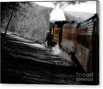 Breaking The Time Barrier  Canvas Print by Steven  Digman