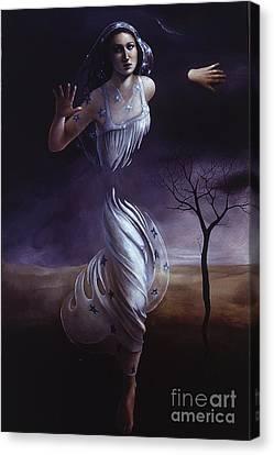 Breaking Through Canvas Print by Jane Whiting Chrzanoska