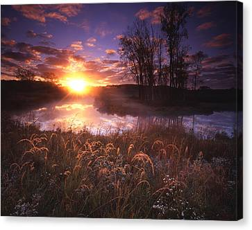 Breakthrough Canvas Print by Ray Mathis