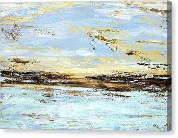 Breakwater  Canvas Print by Tamara Nelson