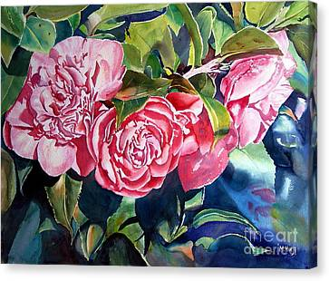 Breathtaking Blossoms Canvas Print by Mohamed Hirji
