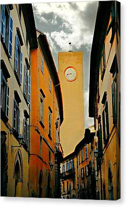 Breathtaking Orvieto Canvas Print by Diana Angstadt