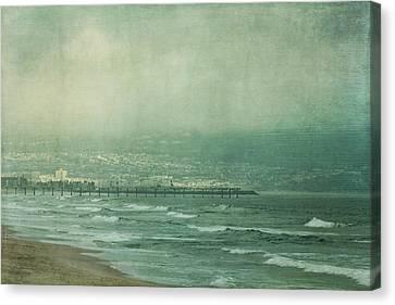 Brewing Storm Canvas Print by Kim Hojnacki