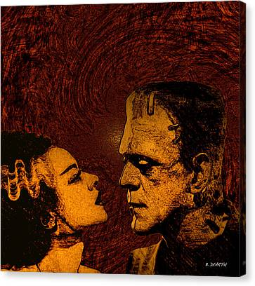 Bride And Groom Bronze Ed. Canvas Print by Brian Dearth