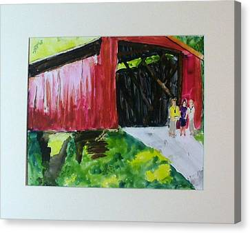 Bridge Canvas Print by Keith Thue