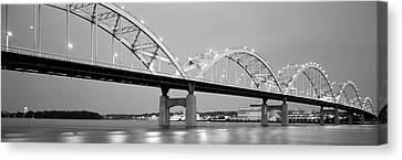 Bridge Over A River, Centennial Bridge Canvas Print by Panoramic Images