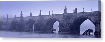 Bridge Over A River, Charles Bridge Canvas Print by Panoramic Images
